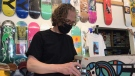 Noel Wendt, the owner of The Tiki Room, has been operating the store in Regina for 25 years. (Stefanie Davis/CTV Regina)