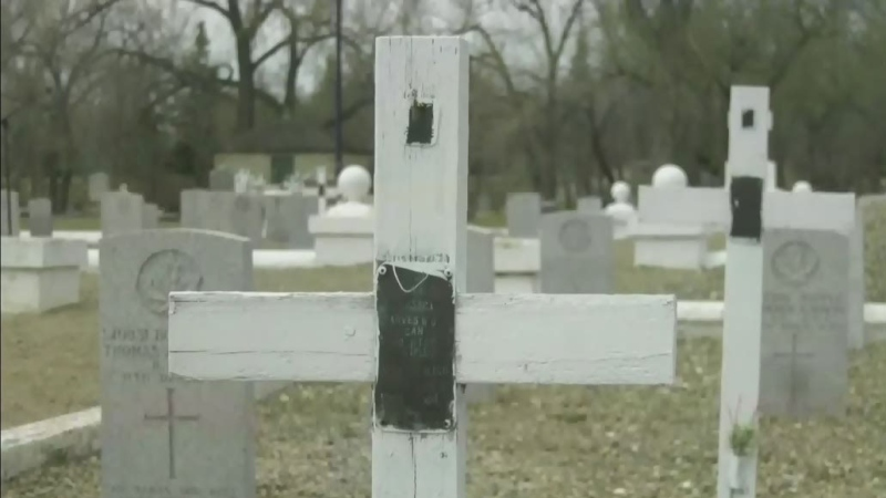 A lasting legacy at a Swift Current cemetery