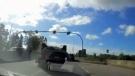 Crash near Massey Tunnel caught on camera
