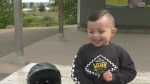 Nanaimo 2-year-old is bicycle prodigy