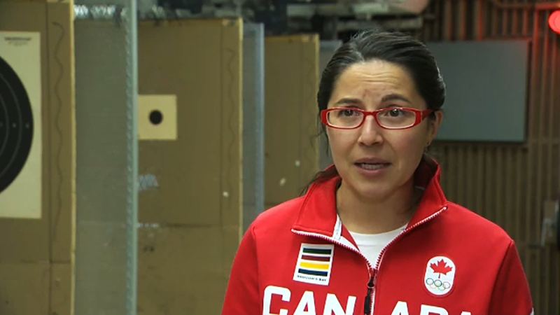 She's heading for her second Olympics in shooting and she's our Athlete of the Week, Lynda Keijko.