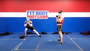 Michael Belostotsky, the owner of Winnipeg South Fit Body Boot Camp, is shifting gears to provide his services virtually. (Source: Winnipeg South Fit Body Boot Camp/ YouTube)