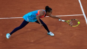 Canada's Leylah Fernandez pictured here in the third round match of the French Open tennis tournament at the Roland Garros stadium in Paris, France, lost in the first round of the WTA Masters 1000 Rome. (AP Photo/Michel Euler)