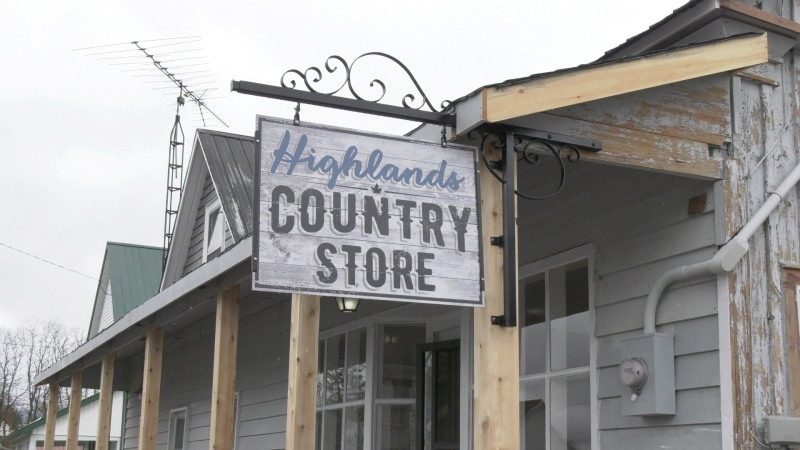 The Highlands Country Store in McDonald's Highlands. (Dylan Dyson/CTV News Ottawa)