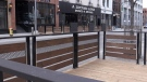 Pop-up patios being installed despite restrictions