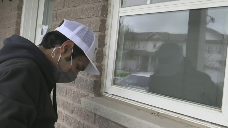 An international student at Lakehead University has recently launched his own window-washing business.