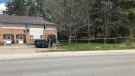 OPP are investigating a shooting incident in Bracebridge Saturday May 8 (Luke Simard/CTV News Barrie)
