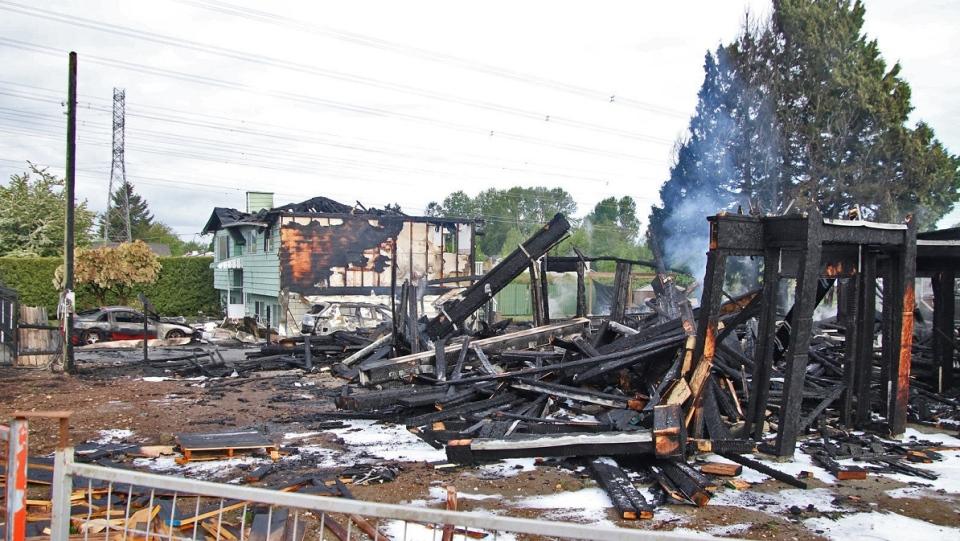 Newton house fire