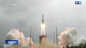 China rocket debris land on Earth