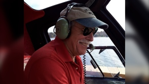 Michael Stockton, 67, is being remembered as an amazing man with a passion for flight. He died in a plane crash in Florida on May 6, 2021. (Photo courtesy of Chris Stockton)