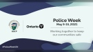 Windsor Police Service celebrates Police Week from May 9-15, 2021 (Source: Windsor Police Service)