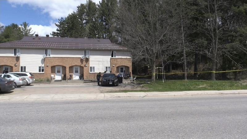 One man is in custody following a shooting incident in Bracebridge Saturday night.