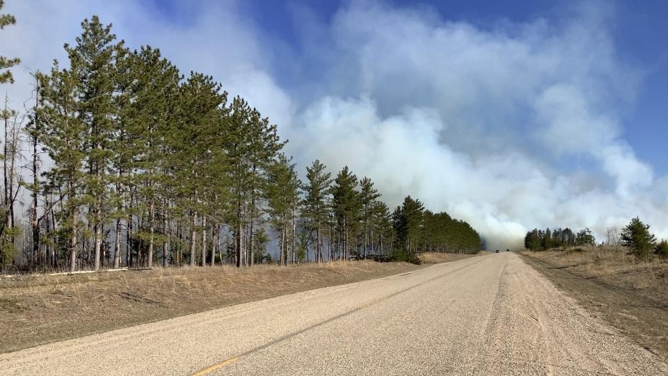 Piney fire
