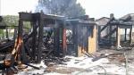 2 house fires deemed suspicious