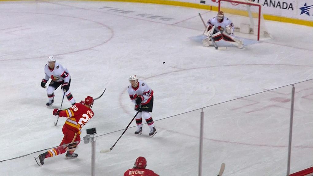 Calgary Flames win