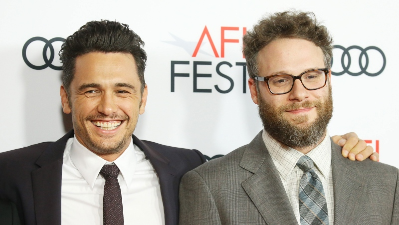 Seth Rogen says has no current plans to work with his former collaborator James Franco, in the wake of sexual misconduct allegations. (Michael Tran/FilmMagic/Getty Images)