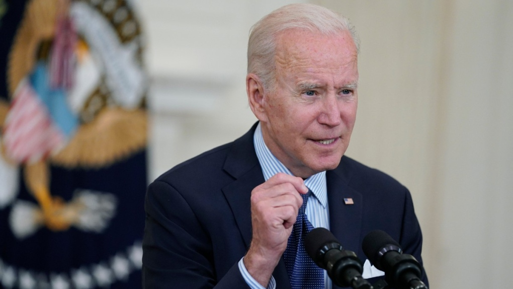 U.S. President Joe Biden at the White House