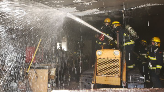Huntsville garage fire