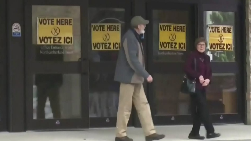 Municipal election voting day in New Brunswick
