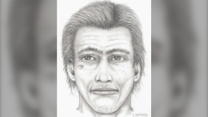 Police are looking to identify this man as part of a sexual assault investigation: (Saanich Police / Greater Victoria Crime Stoppers)