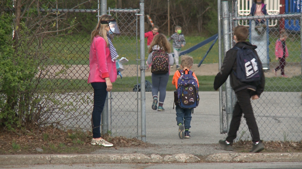 Elementary students in Gatineau