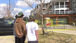 Teens help evacuate residents of seniors home