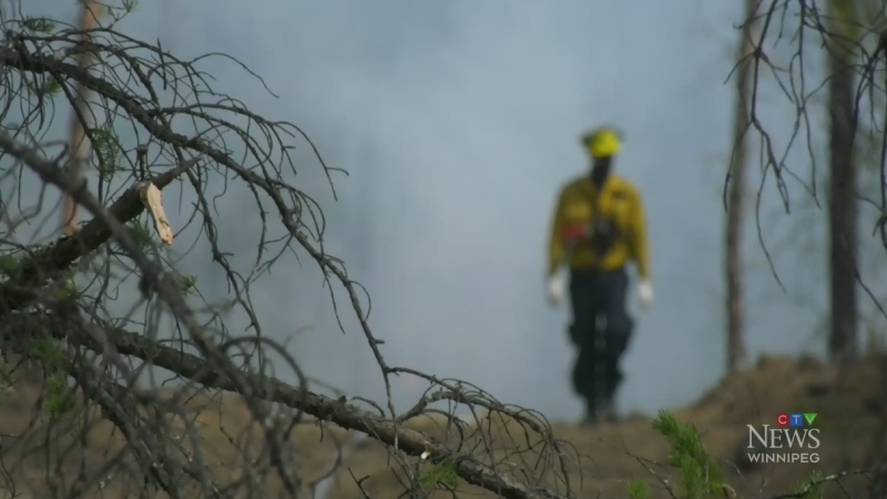 Southeastern Manitoba fire remains out of control