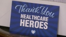 Three local businesses teamed up to provide thank-you gifts to more than 550 ICU staff in Regina (Colton Wiens/CTV Regina)