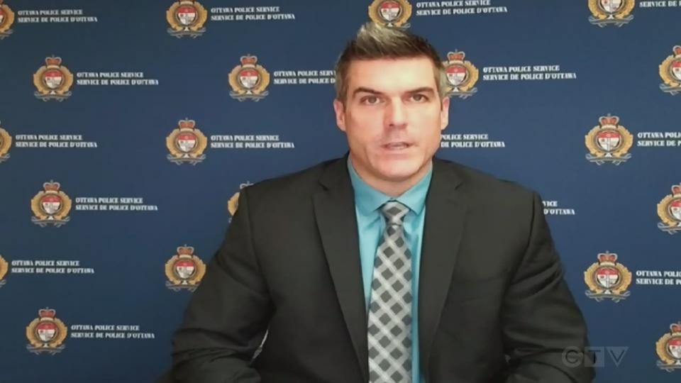 Ottawa police Staff Sgt. Martin Groulx