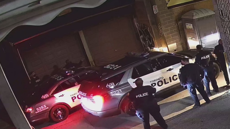 Police breakup 150-person party in downtown Toronto