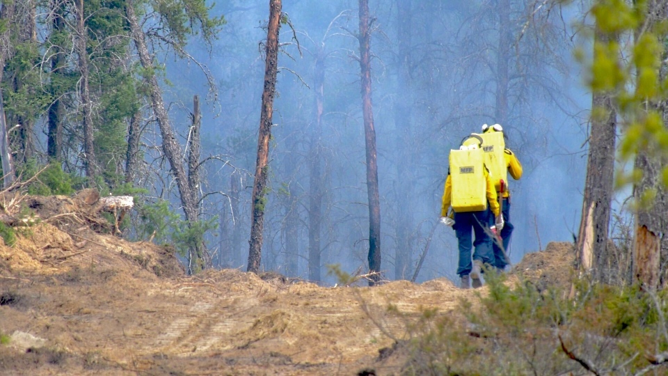 southeast manitoba fire sandilands