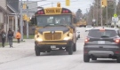 Amber lights are coming to Ontario school buses in time for the start of school in 2022. The provincial government has passed Bill 246, a bill more commonly known as the Safer School Buses Act. (Eric Taschner/CTV News)