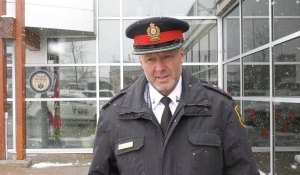 In the past 25 years, Timmins Police Insp. Richard Blanchette has risen through the ranks, from constable to inspector. During National Police Week, a seven-day public awareness campaign, he talks about some of the changes he's seen throughout his career. (Lydia Chubak/CTV News).