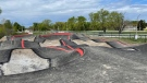 New bike track in the Little River Corridor is expected to open in time for summer in Windsor, Ont. on Monday, May 10, 2021. (Melanie Borrelli/CTV Windsor)