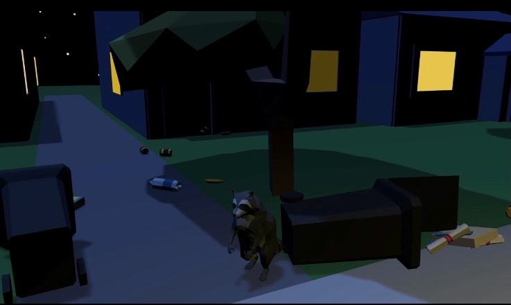 raccoon video game
