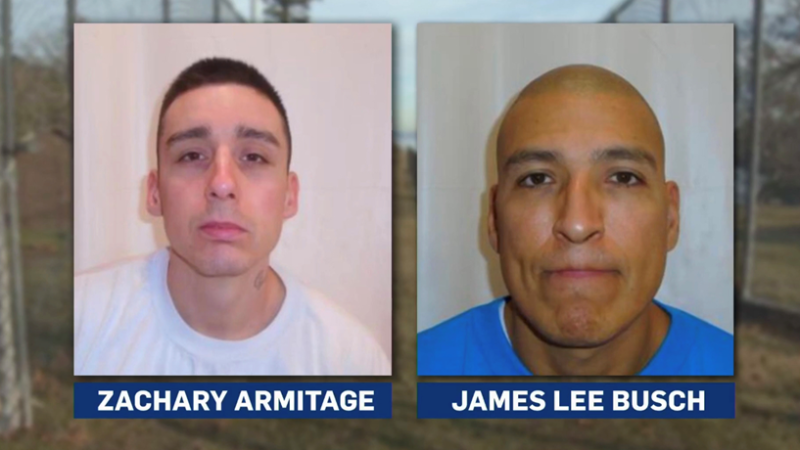 Zachary Armitage and James Lee Busch are facing charges of first degree murder in the death of Metchosin man Martin Payne.