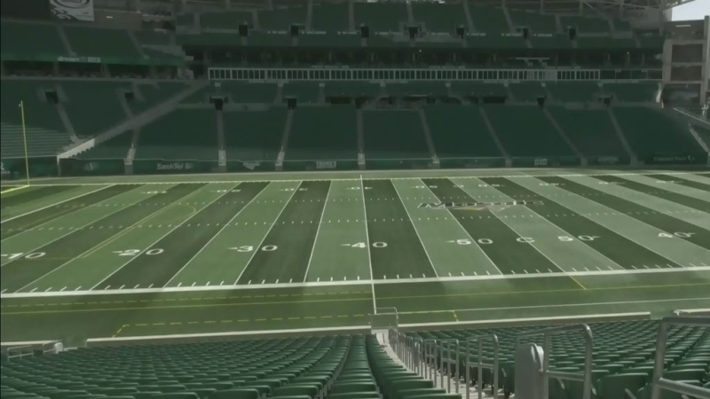 Grad ceremonies at Mosaic Stadium