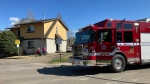 Edmonton fire