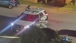 Innocent bystander struck by bullet