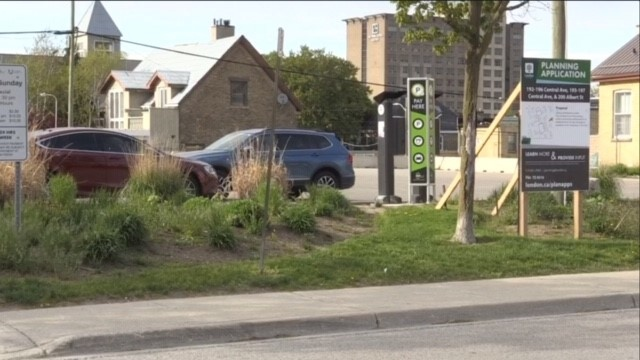 A 'temporary' parking lot could be given another three years of operation by the city.