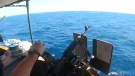 US Coast Guard fires warning shots fired in Strait
