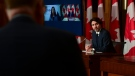 Prime Minister Justin Trudeau holds a press conference in Ottawa on May 11, 2021. (Sean Kilpatrick / THE CANADIAN PRESS)