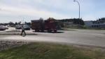 The crash occurred around 9 a.m. Tuesday: (CTV News)