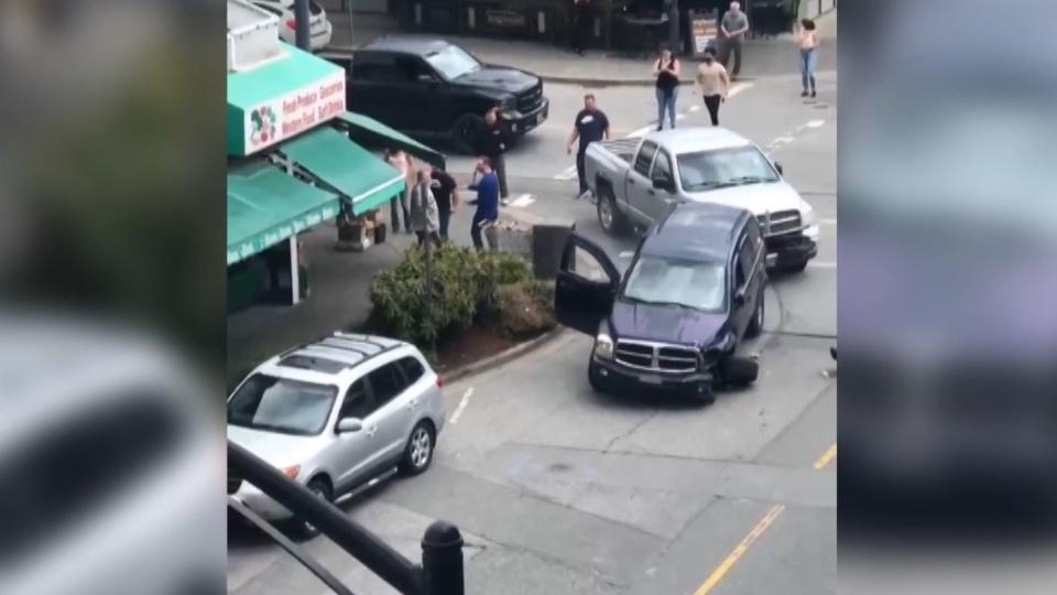 Road rage Maple Ridge
