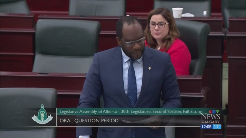 Alberta justice minister under fire