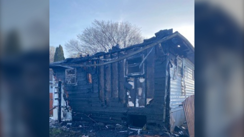 A Tuesday morning fire in the 2100 Block of Coy Avenue is under investigation, the Saskatoon Fire Department says. (Saskatoon Fire Department)