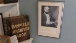 Bayfield, Ont. Historical Society archives on May 11, 2021. (Scott Miller/CTV London)
