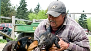 Andy Parent, founder of Big Sky Ranch Animal Sanctuary. (Image courtesy Francine Charbonneau)