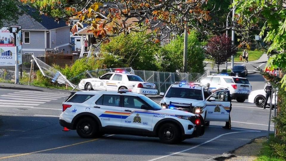 Nanaimo RCMP crash