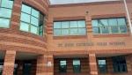 St. John Catholic High School in Perth, Ont. (Dylan Dyson / CTV News Ottawa)